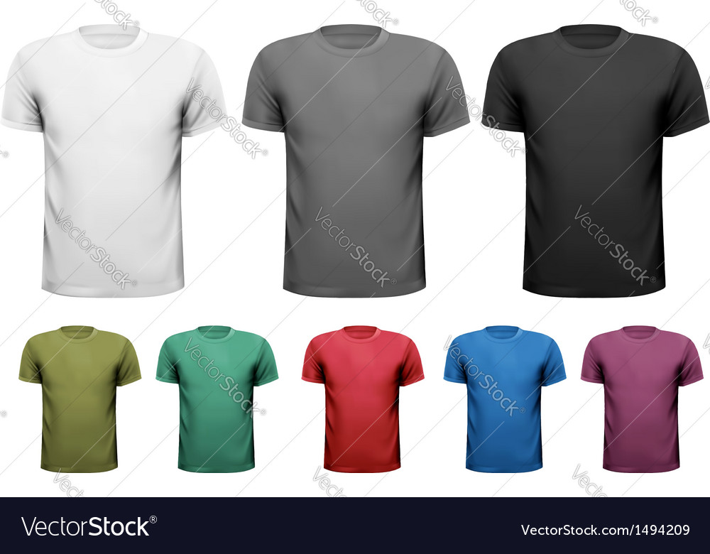 Men t-shirts design template vector