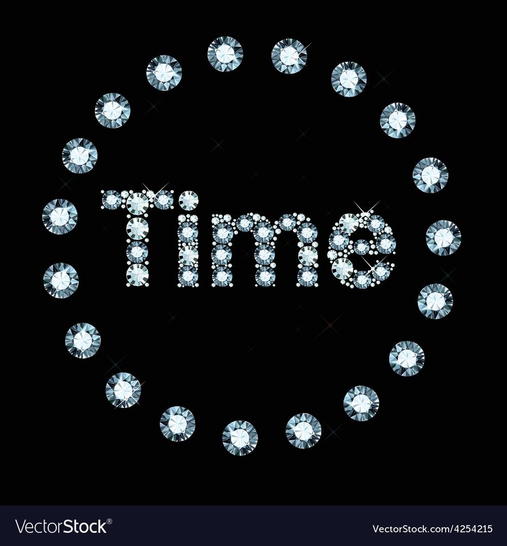 Diamond word time vector