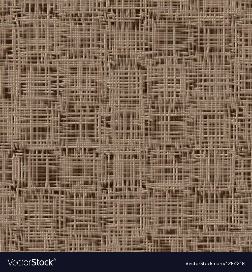 Natural linen background woven threads texture vector