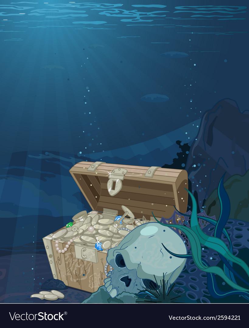 Fabulous treasure vector