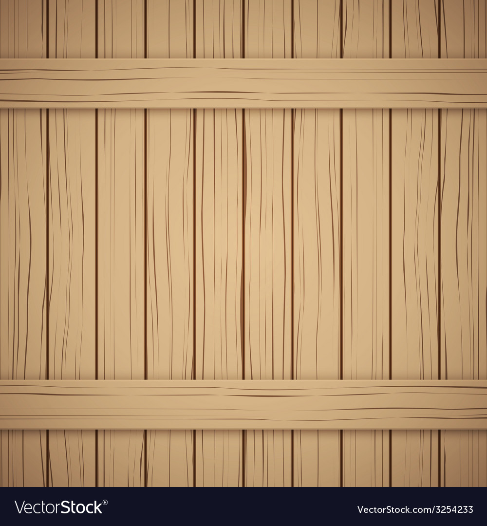 Wood plank texture for your background vector