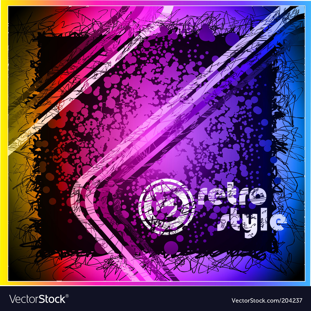 Grunge artistic background vector