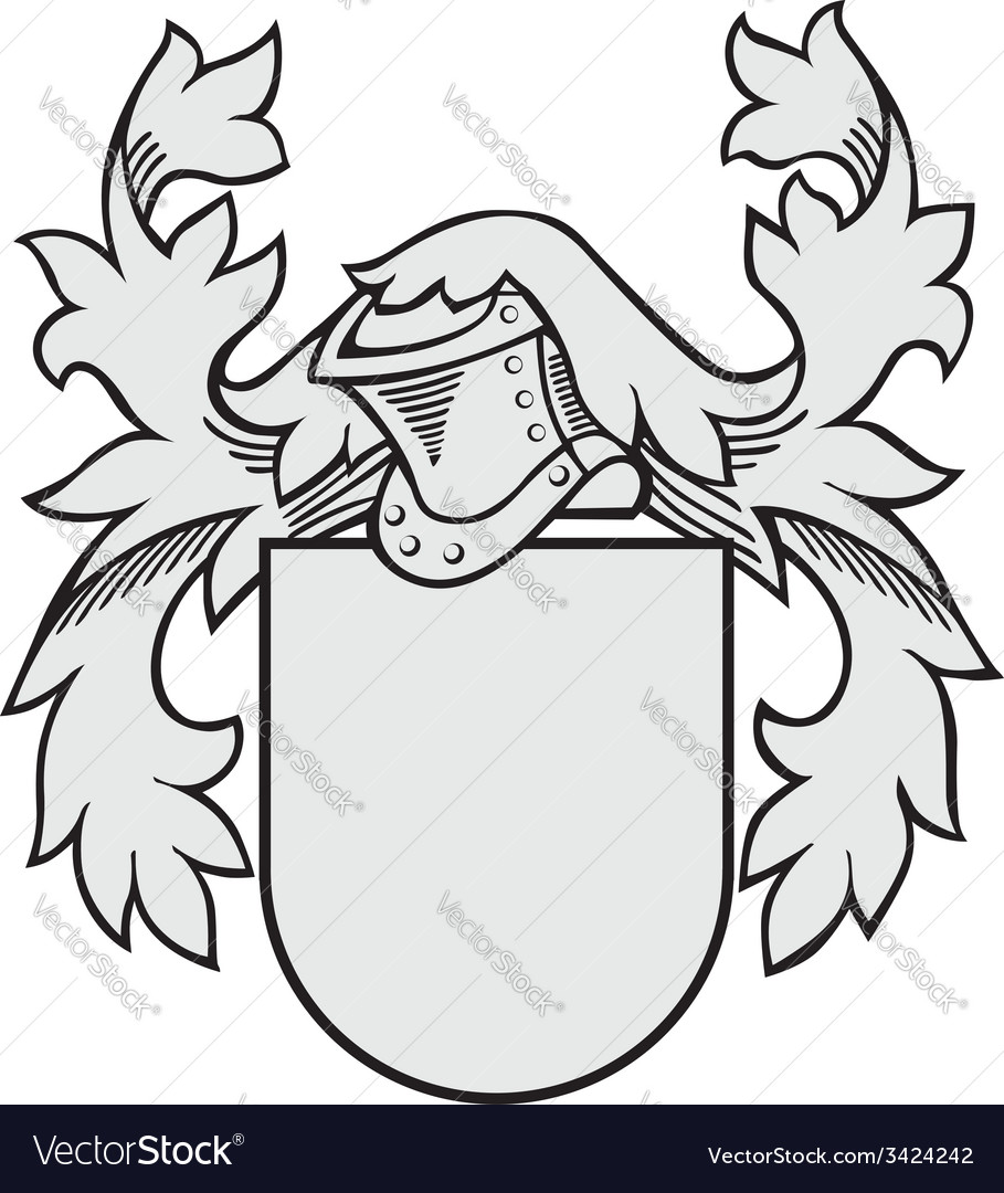 Aristocratic emblem no31 vector