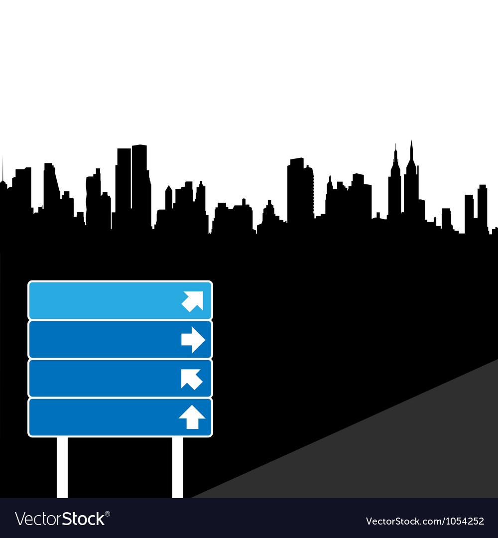 Direction sign vector