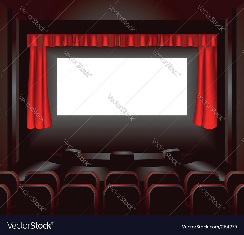 Cinema illustration vector