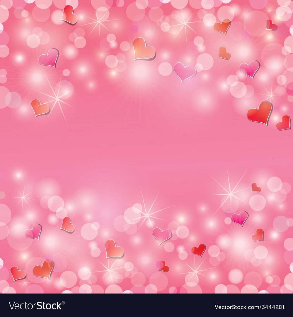 Light hearts frame 1 380 vector