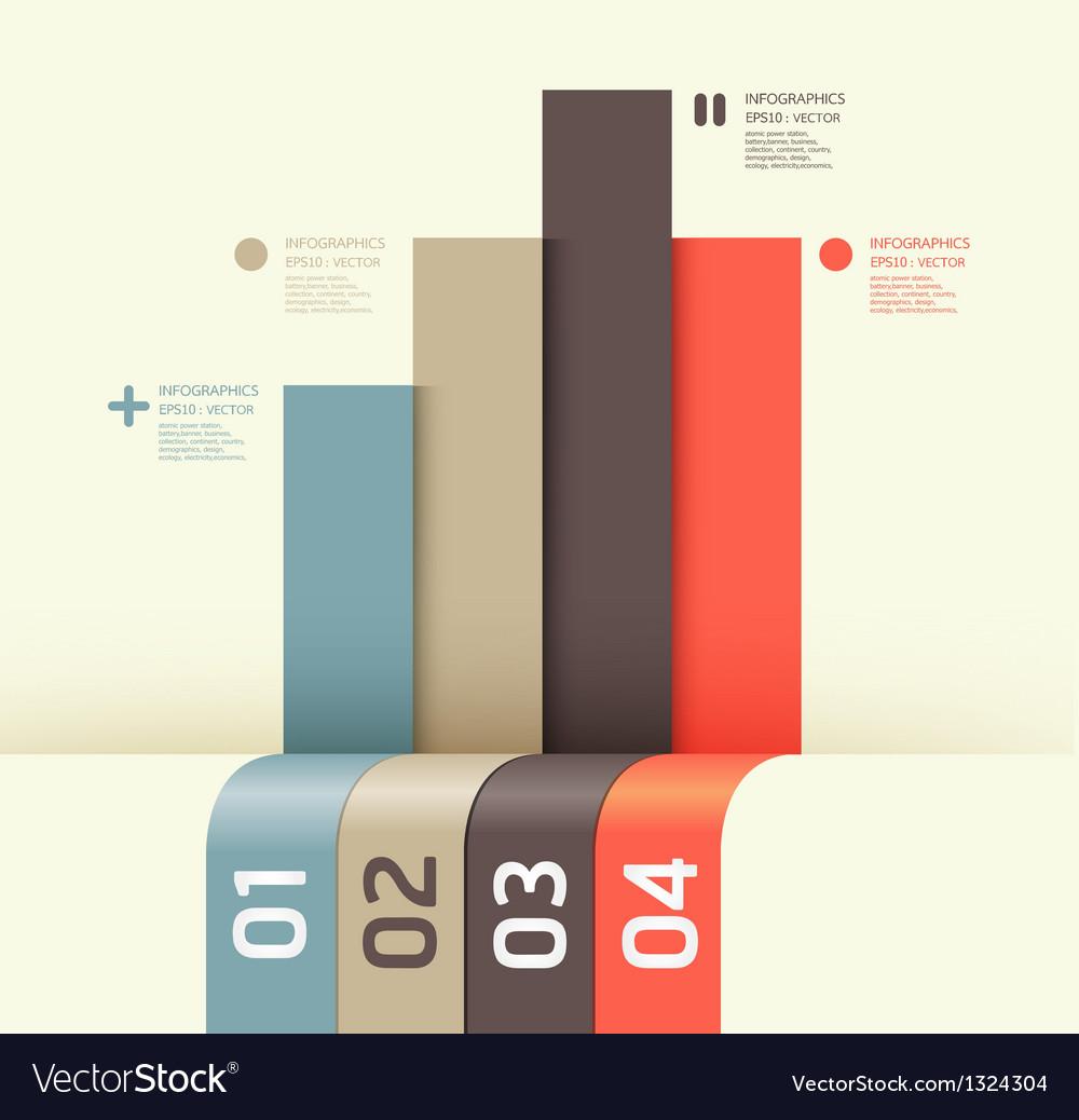 Modern design template vector