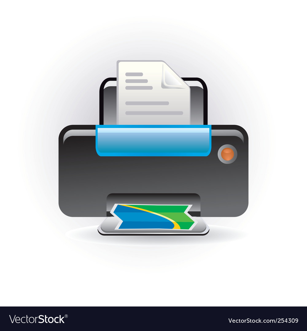 Photocopy icon vector