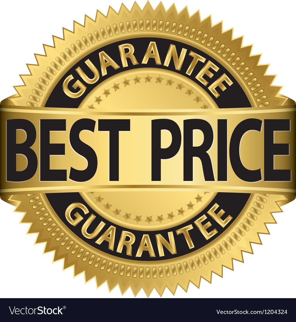 Best price guarantee golden label vector