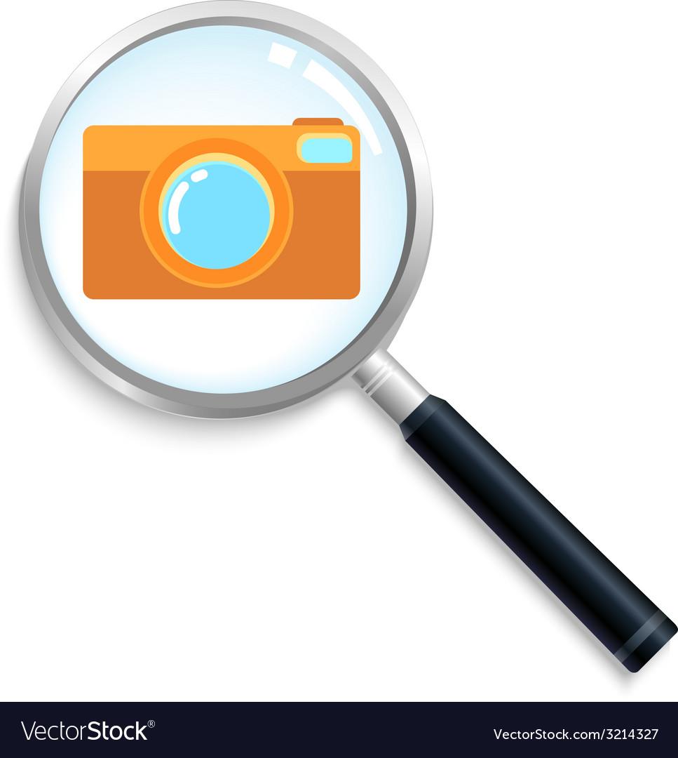 Camerasearch vector