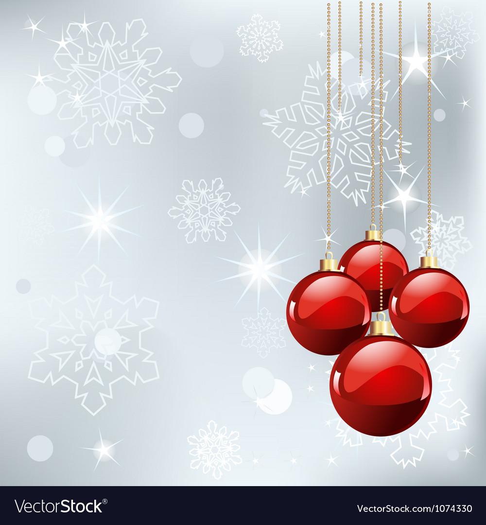 Christmas place card vector