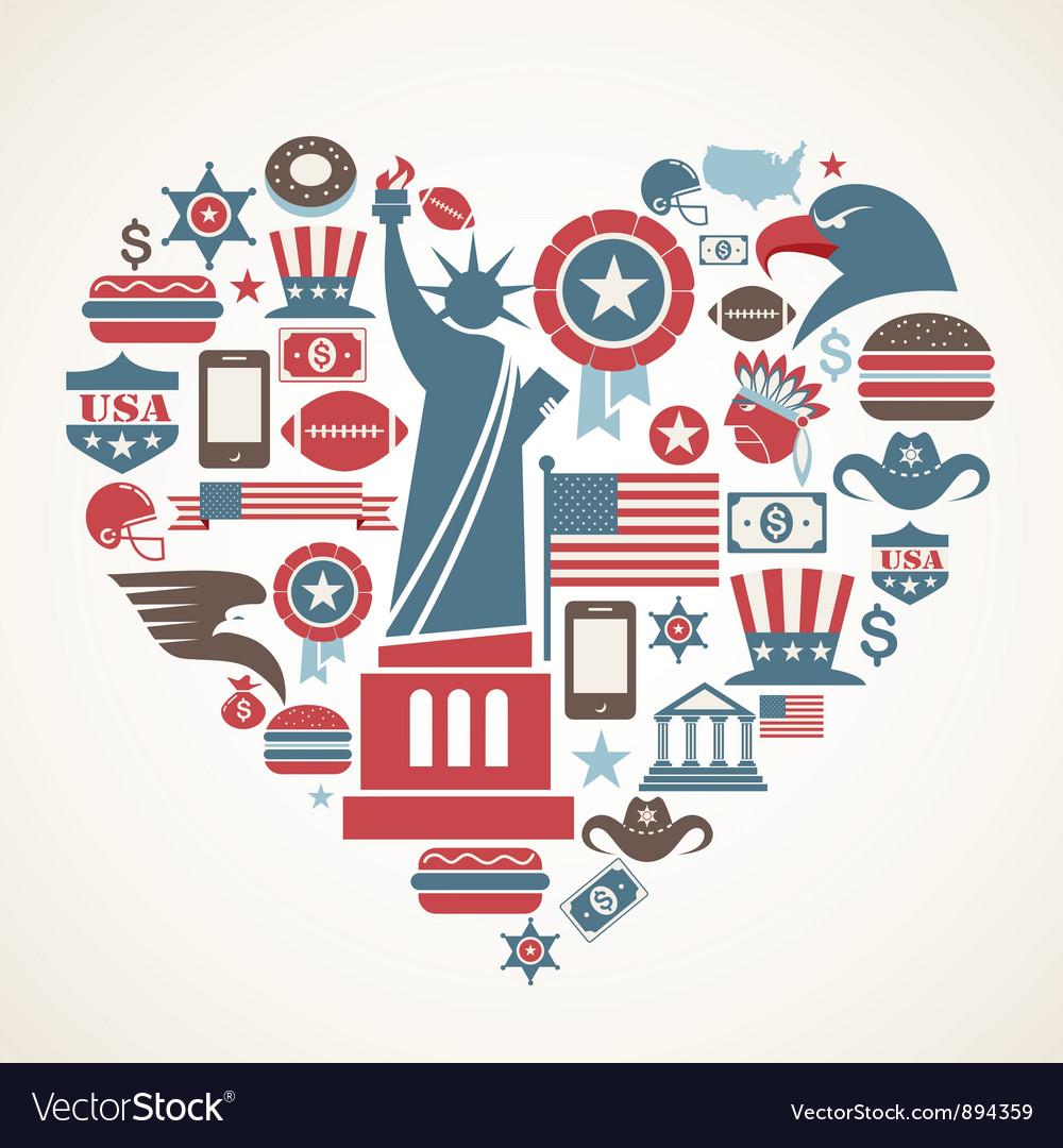 America love vector