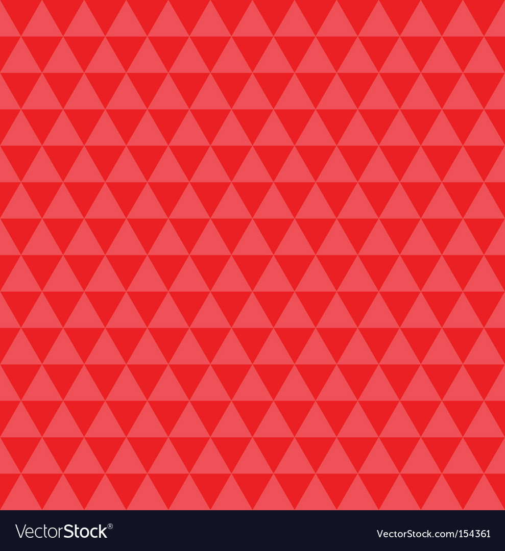 Red illusion pattern vector