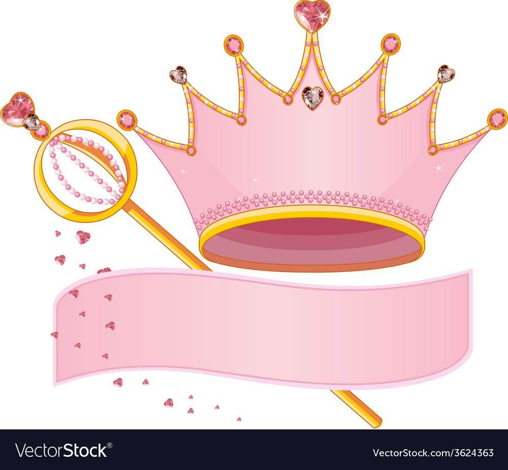Royal regalia vector
