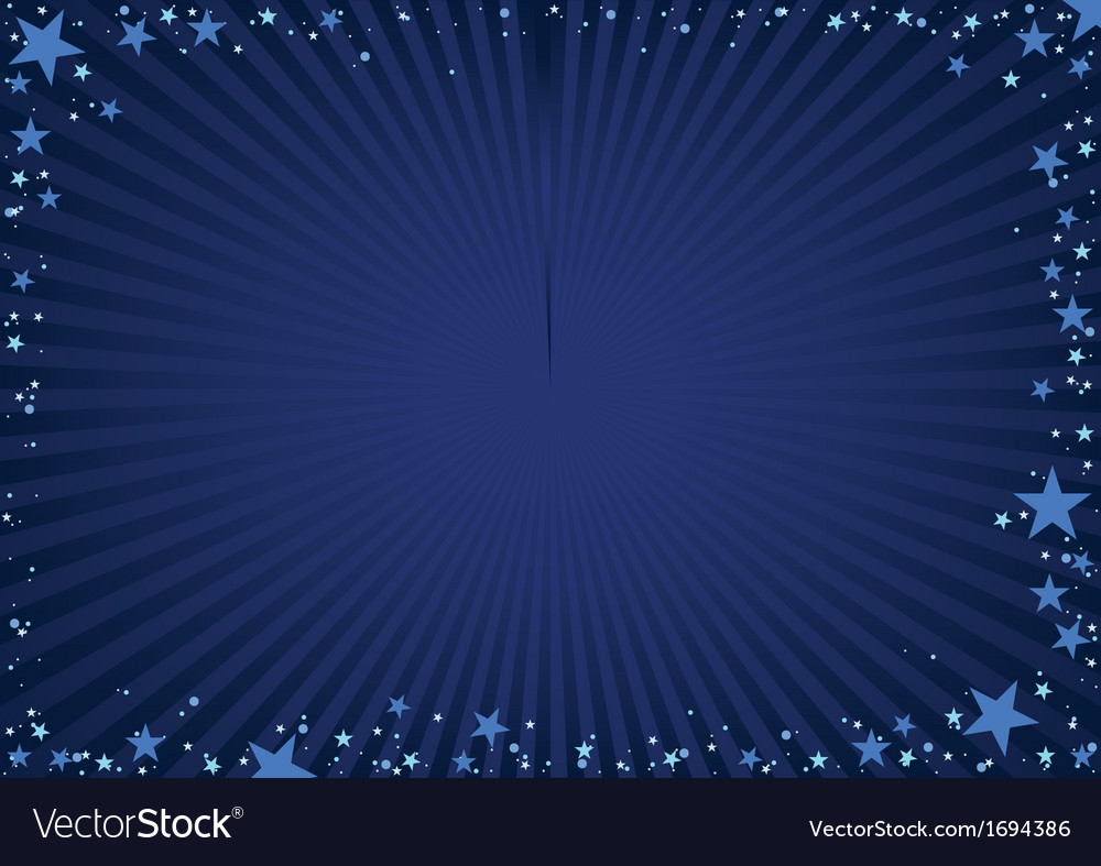 Star frame vector