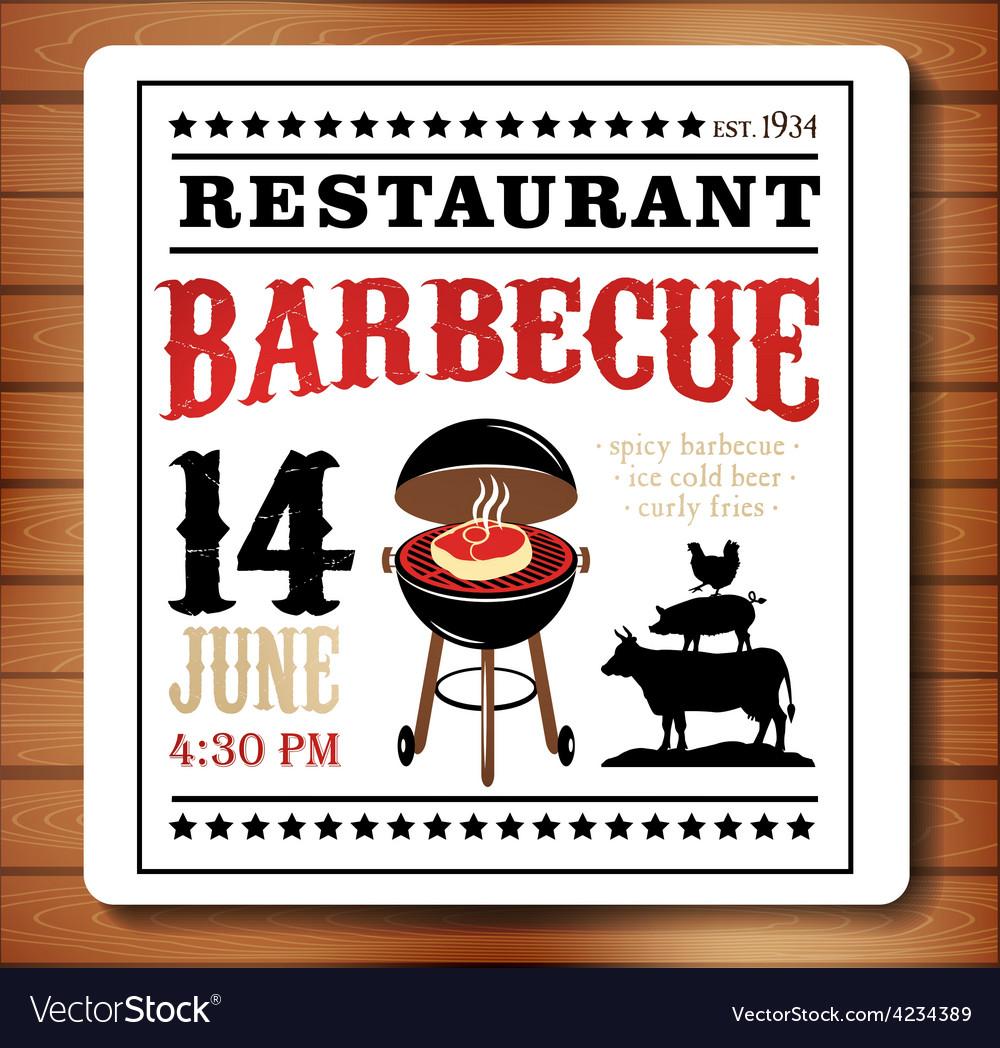 Vintage meat logos badges vector