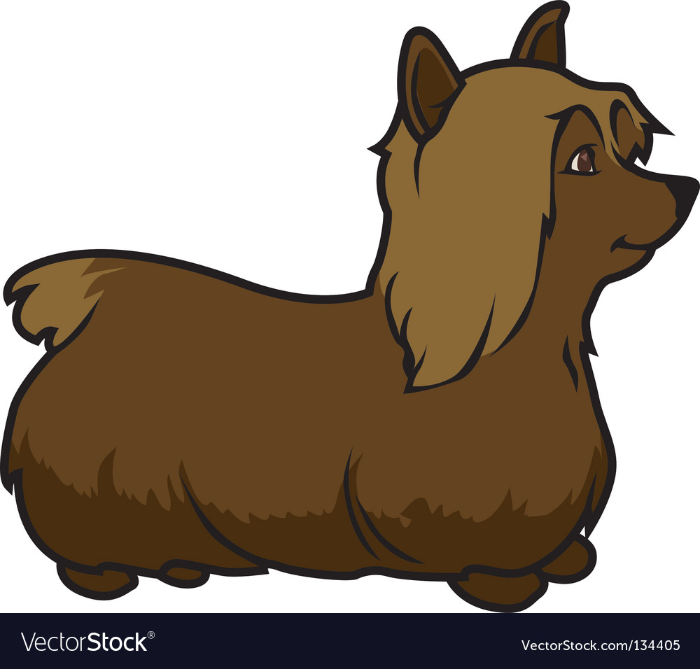 Lap dog vector