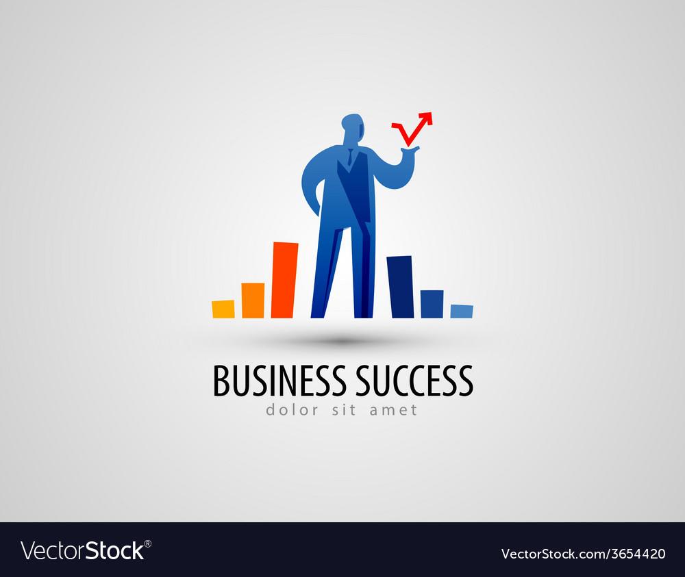 Development logo design template business or vector