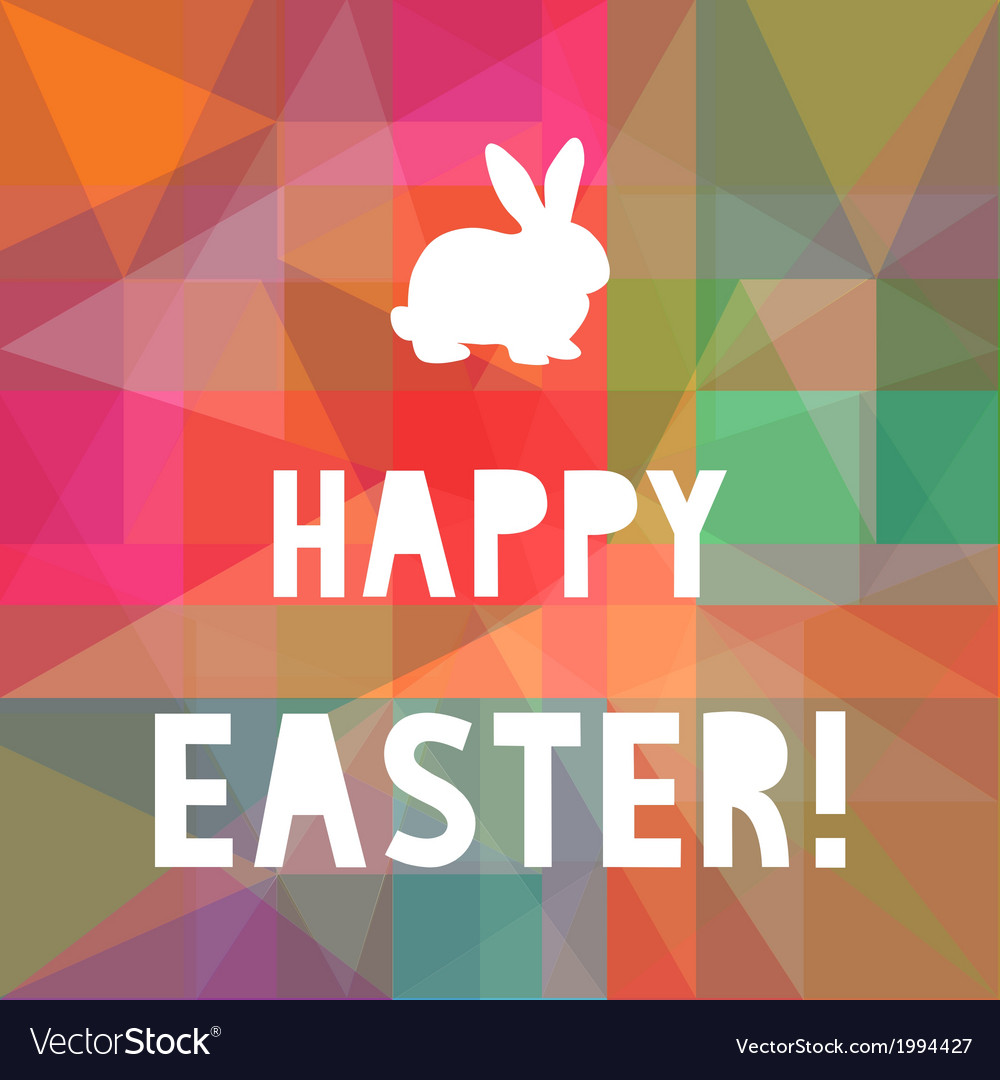 Happy easter10 vector