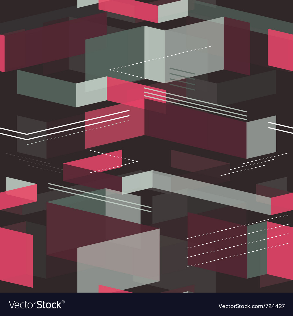 Seamless geometrical pattern - vector