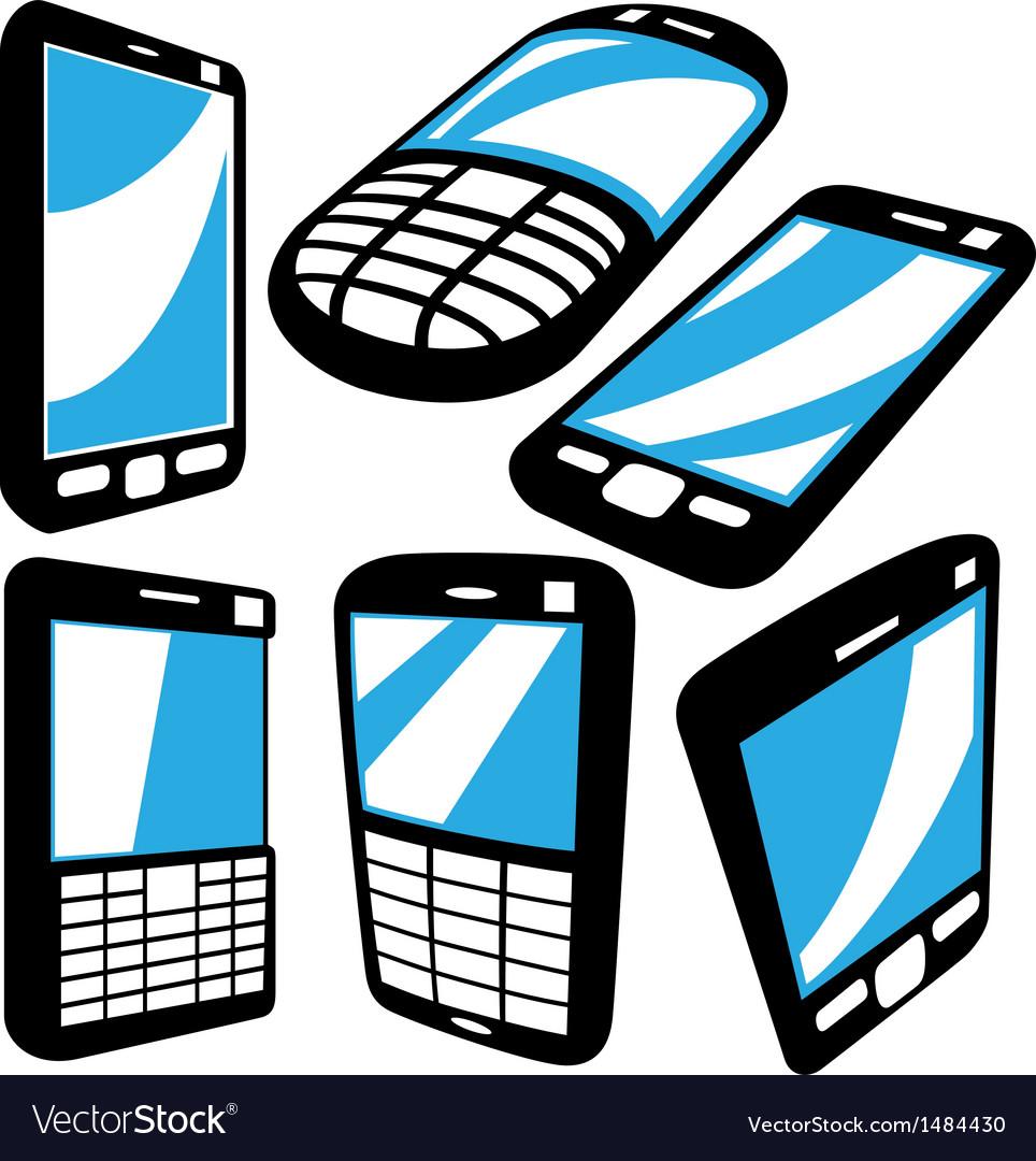 Cell phoneset vector