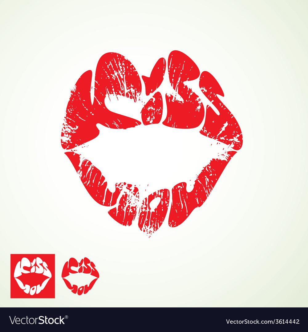 Kiss lips 380 vector