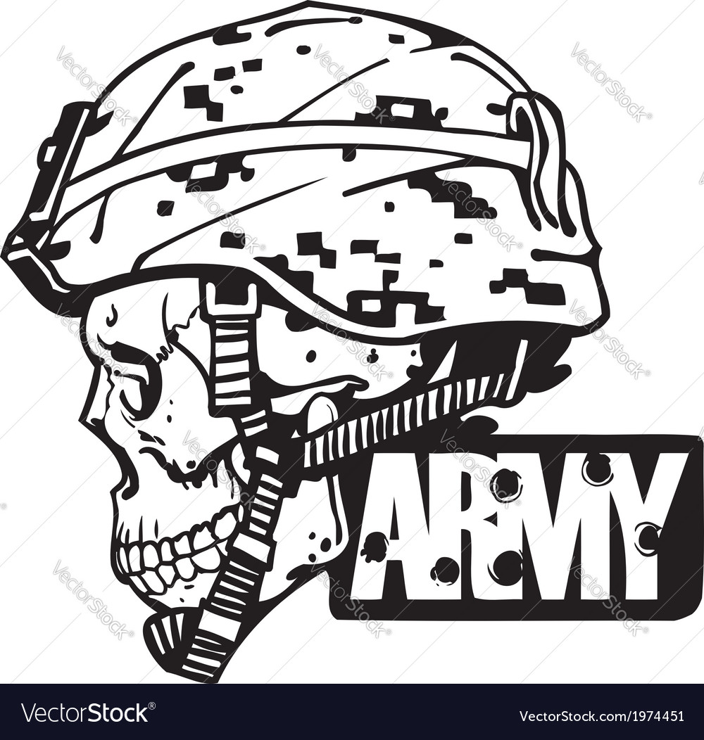 Us army military design - vector