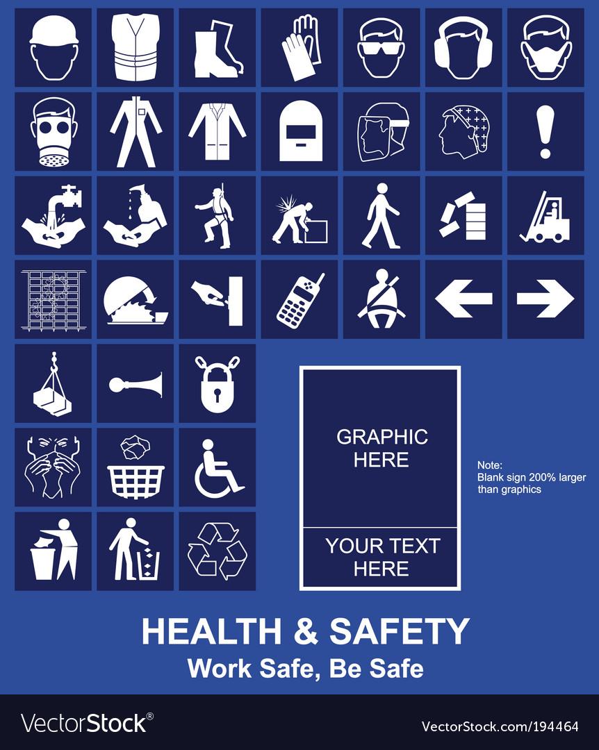 Health safety vector
