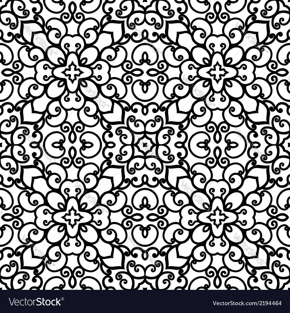 Swirly pattern vector