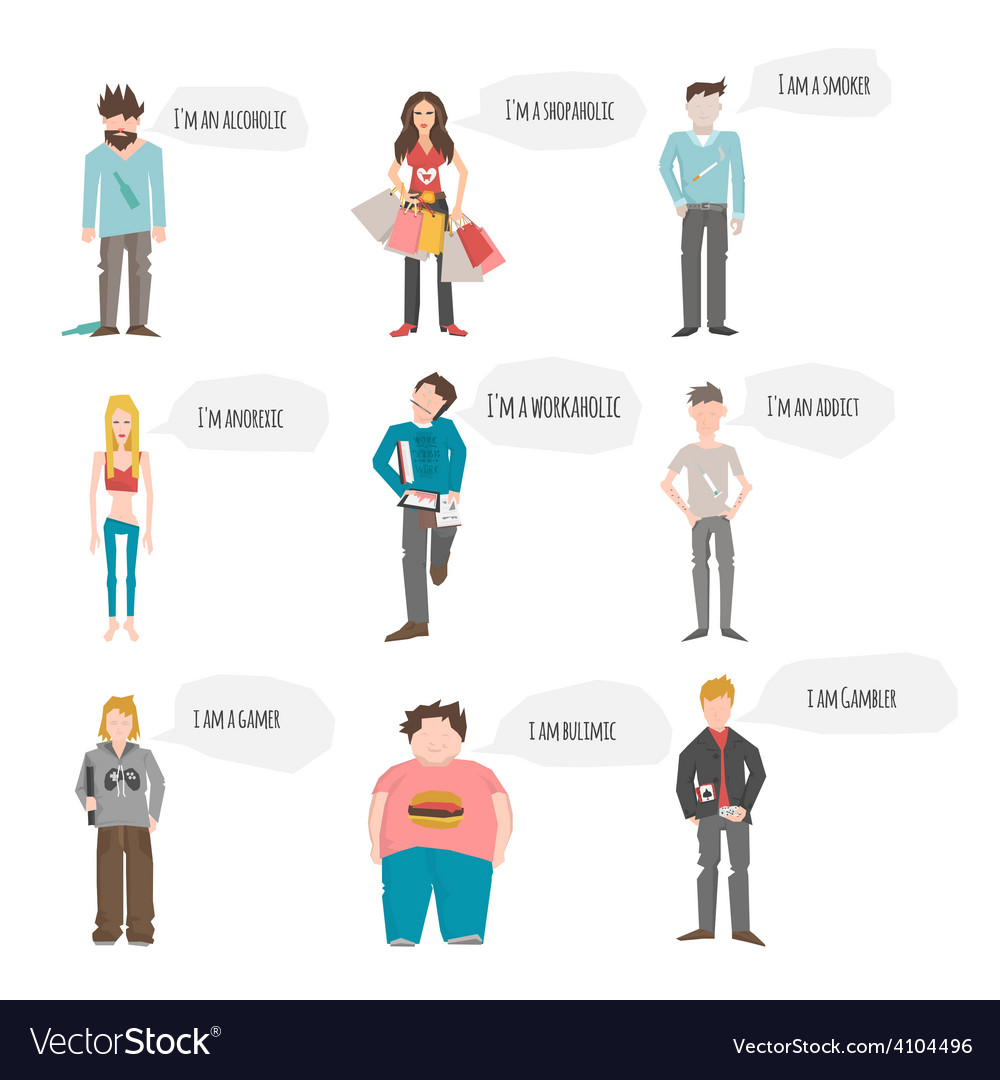 Support group people vector