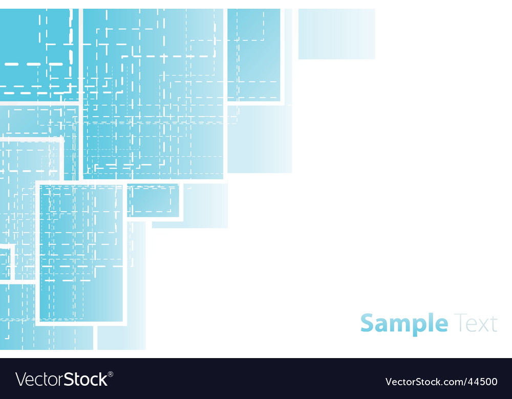 Business corner design vector