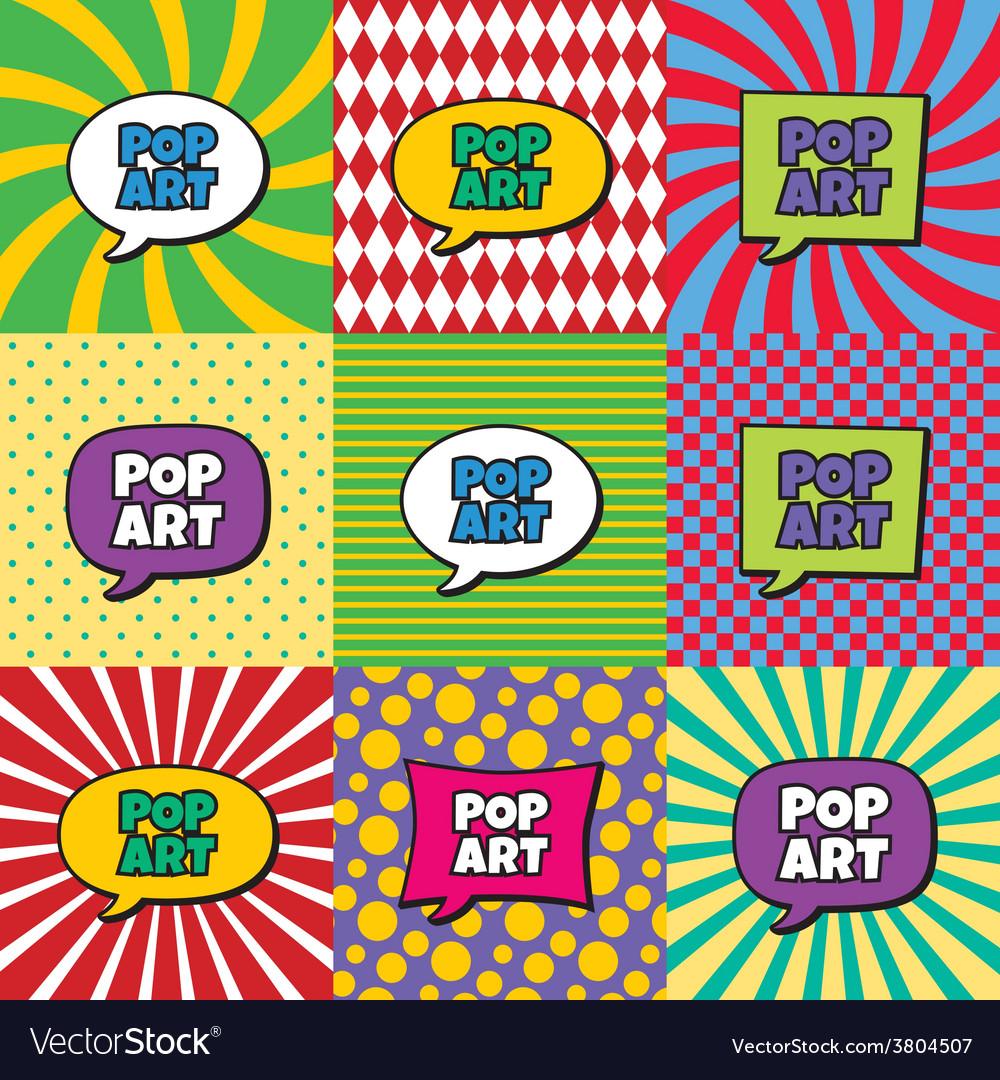 Pop art vector