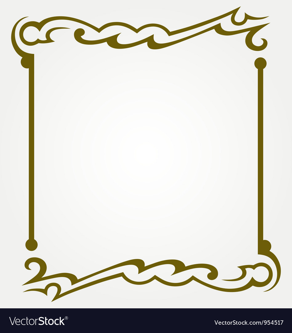Decorative frames vector