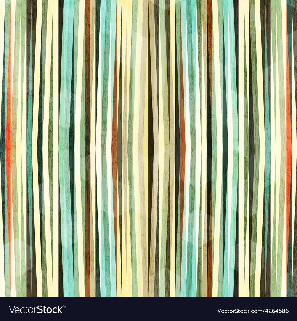 Retro grunge line seamless pattern vector
