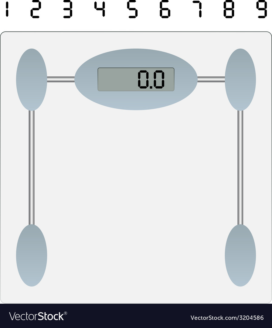 Weight scale vector