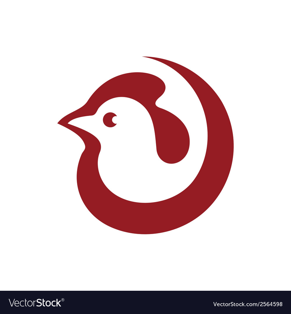 Cock sign vector