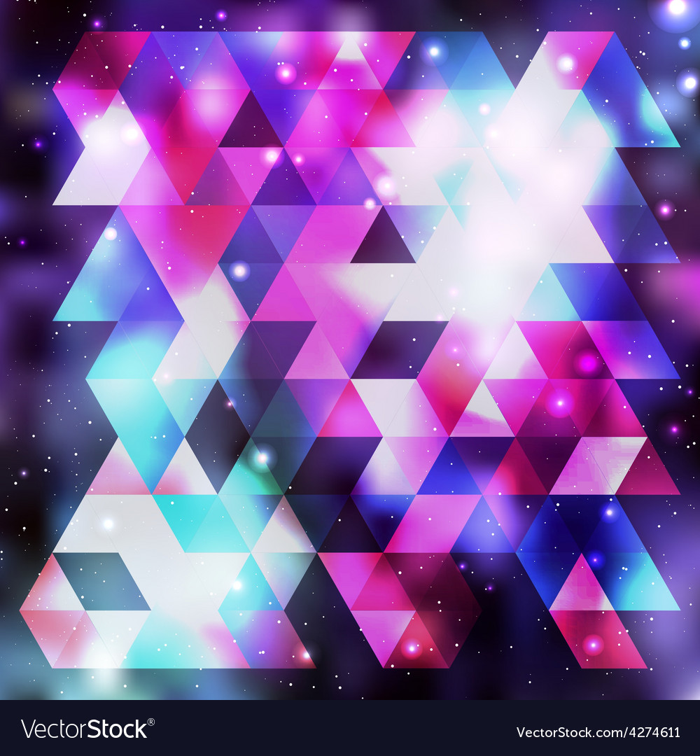 Galaxy background colorful vector