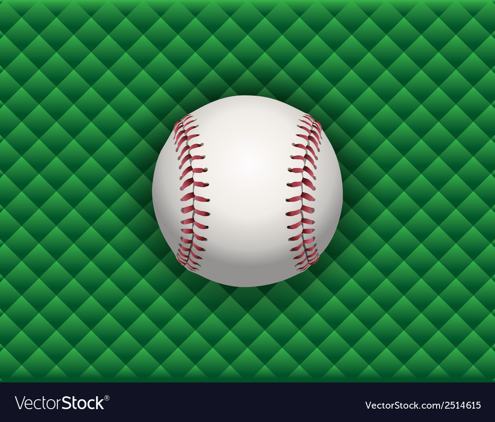 Baseball checkered background vector