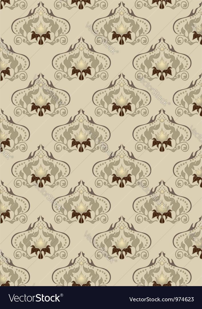 Light brown oriental background vector