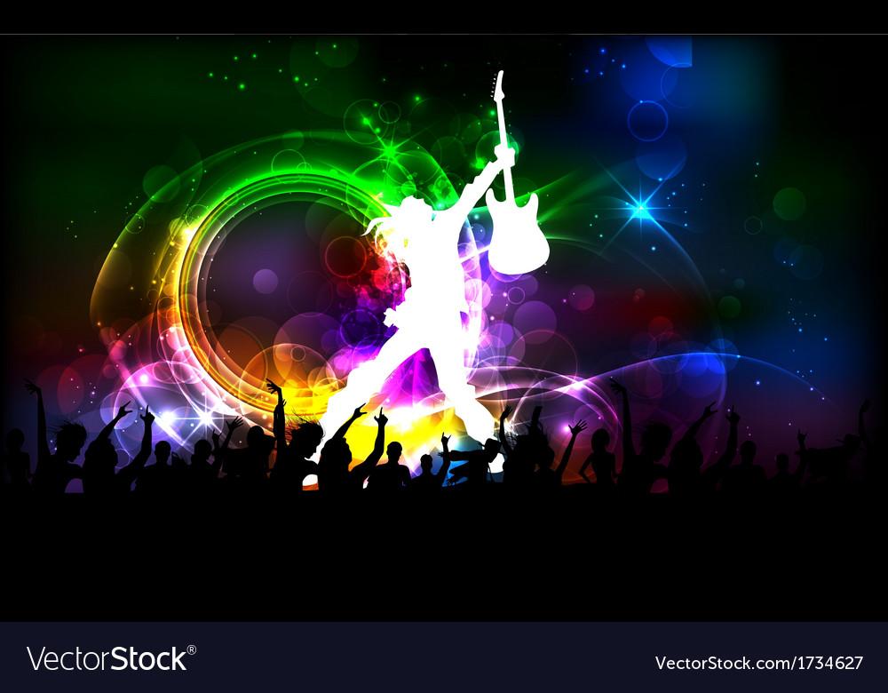 Rock dancer vector