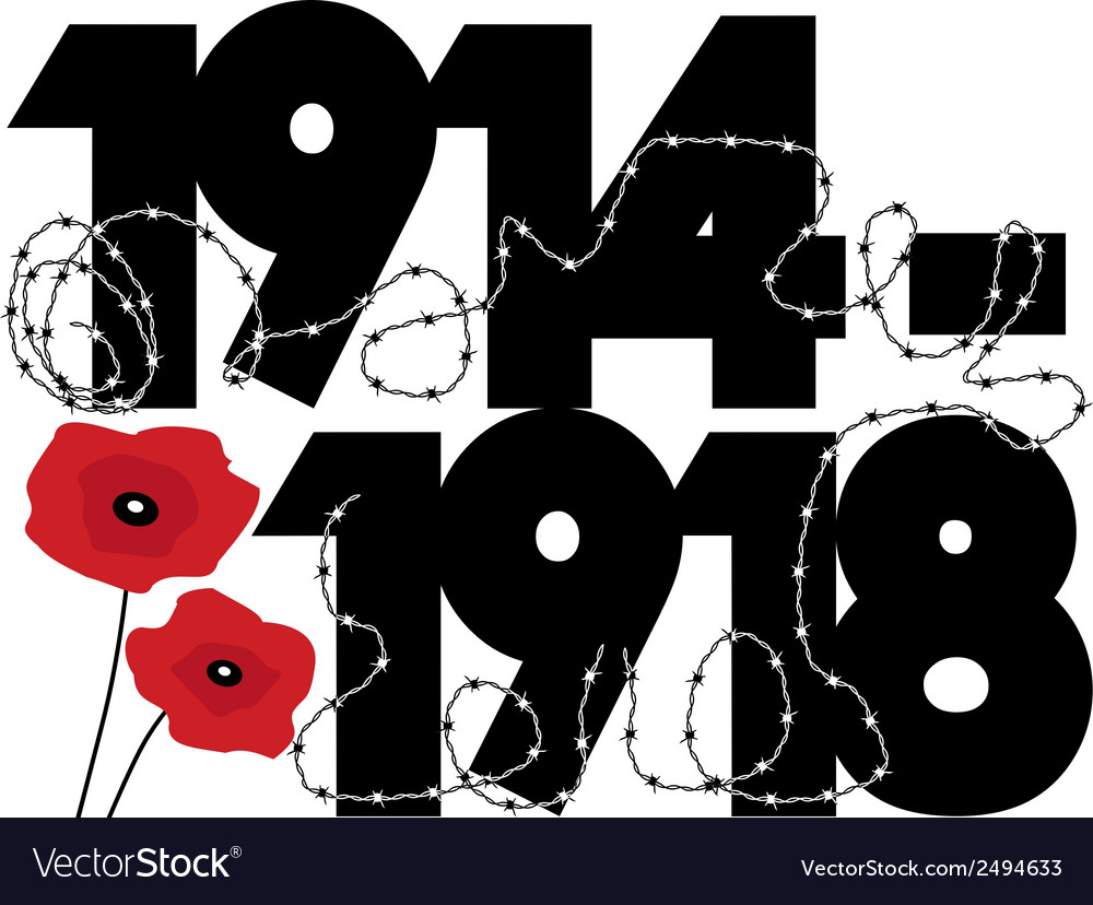 World war one vector