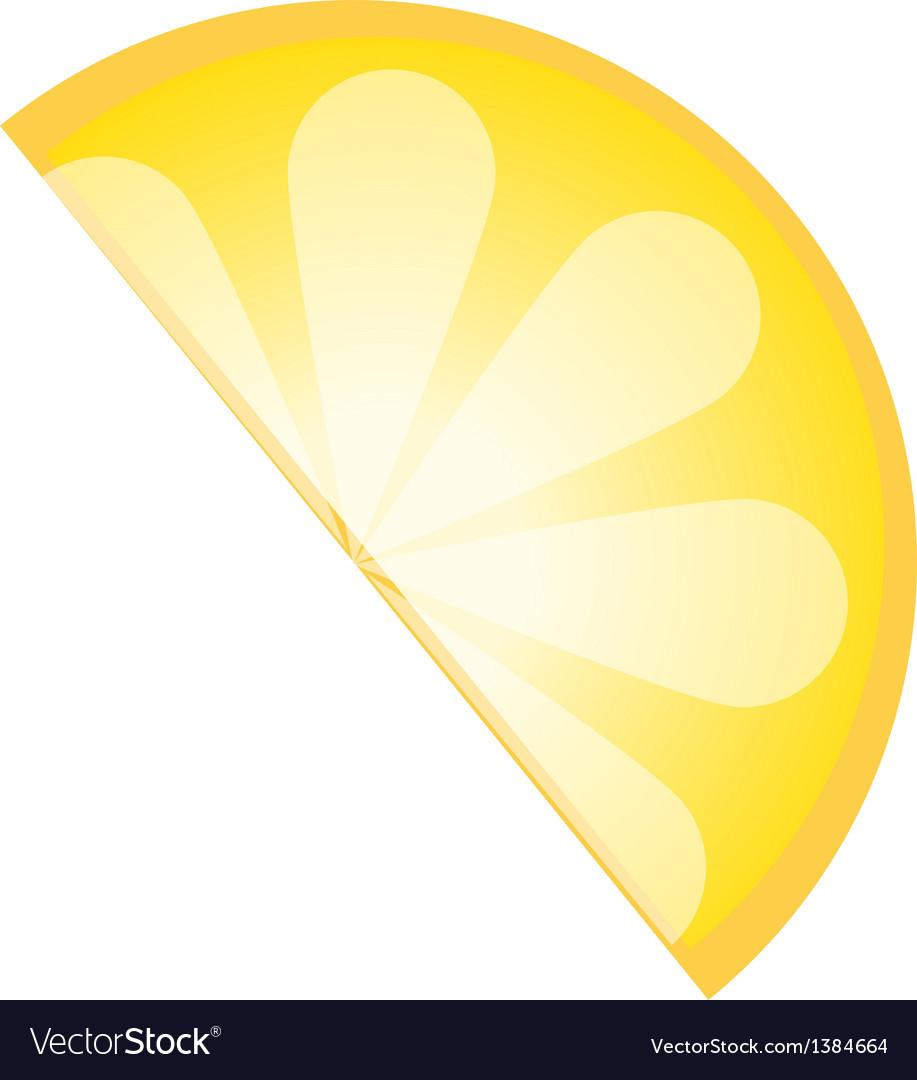 Icon lemon vector