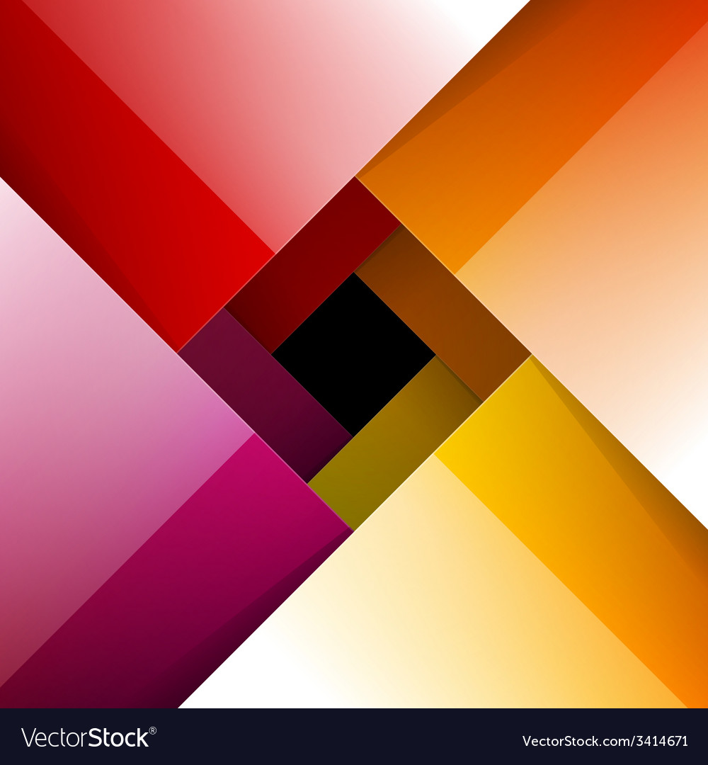 Swirly colorful shiny paper background vector