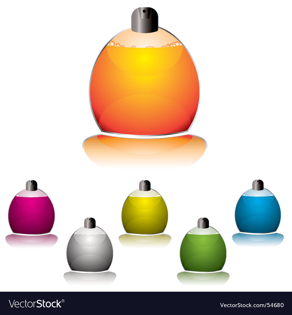 Perfume icon vector
