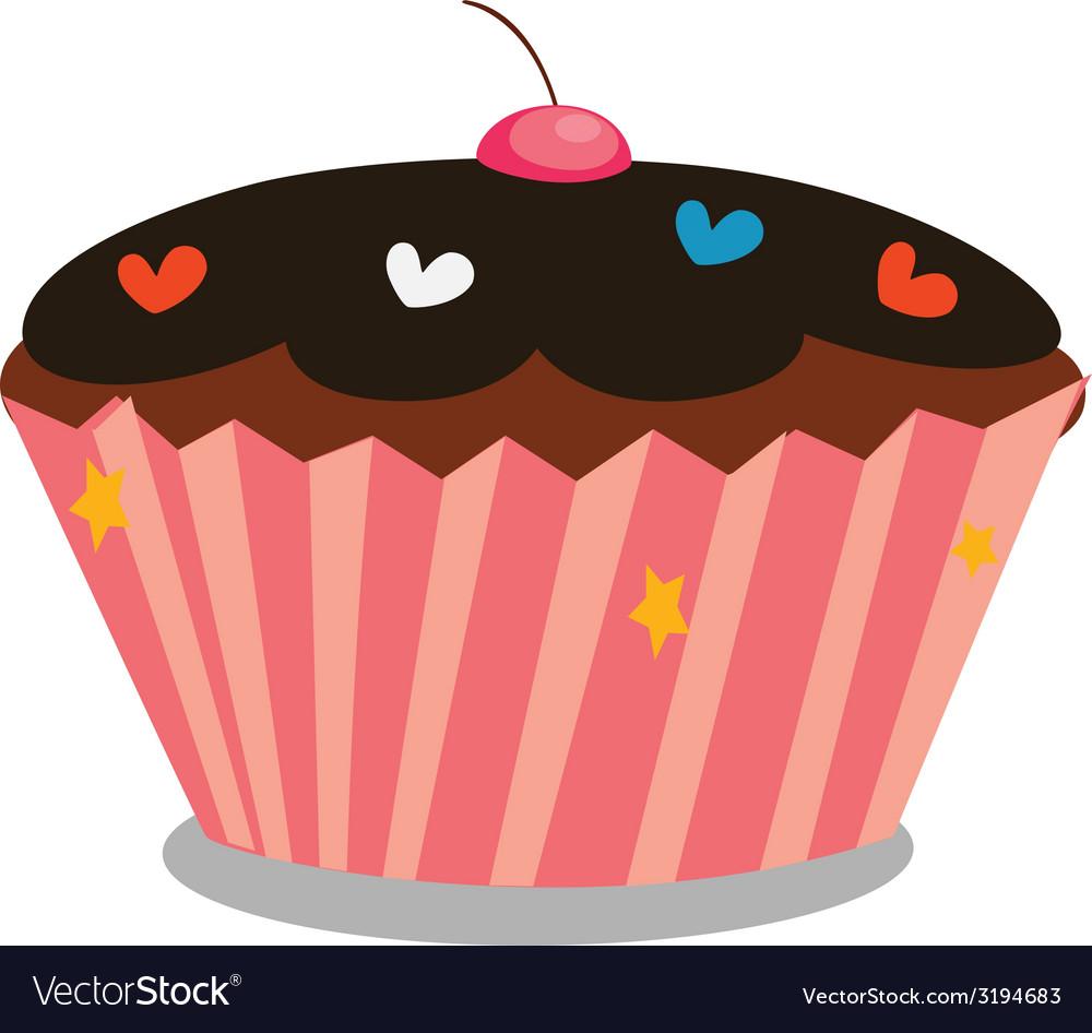 Cupcake 1 vector
