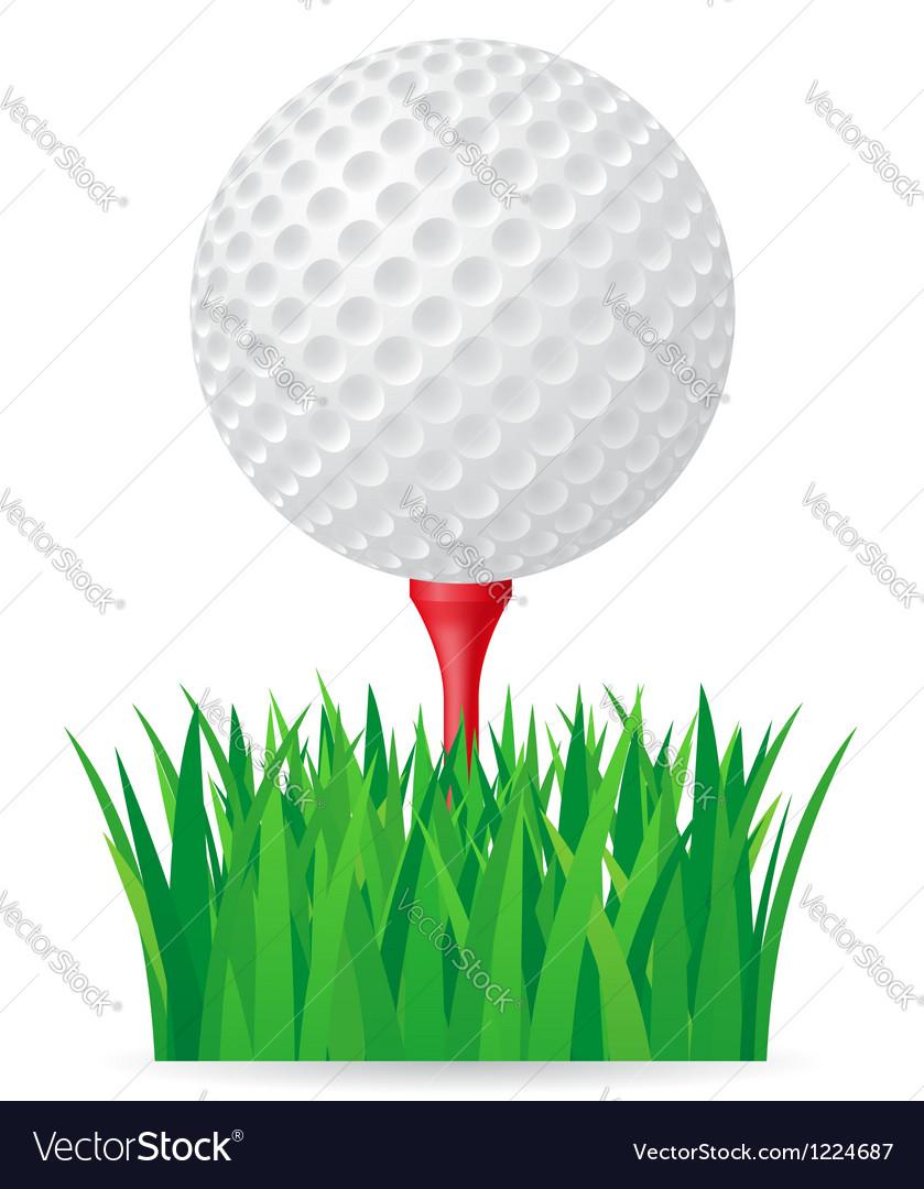 Golf 02 vector