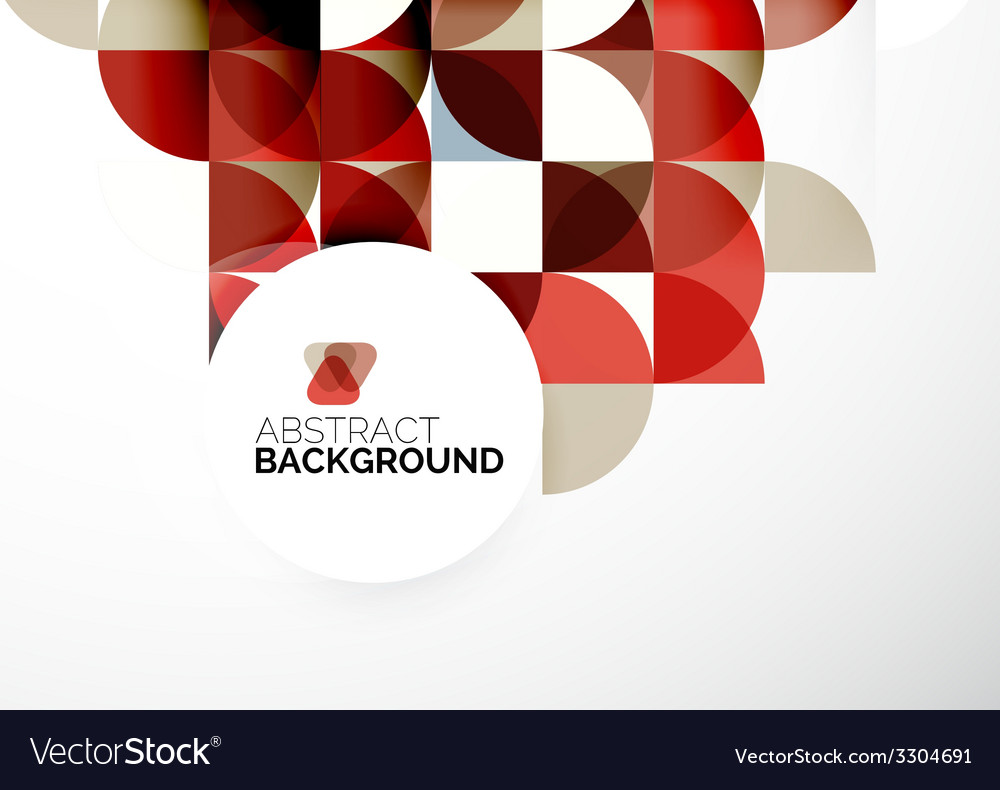 Business abstract geometric template vector