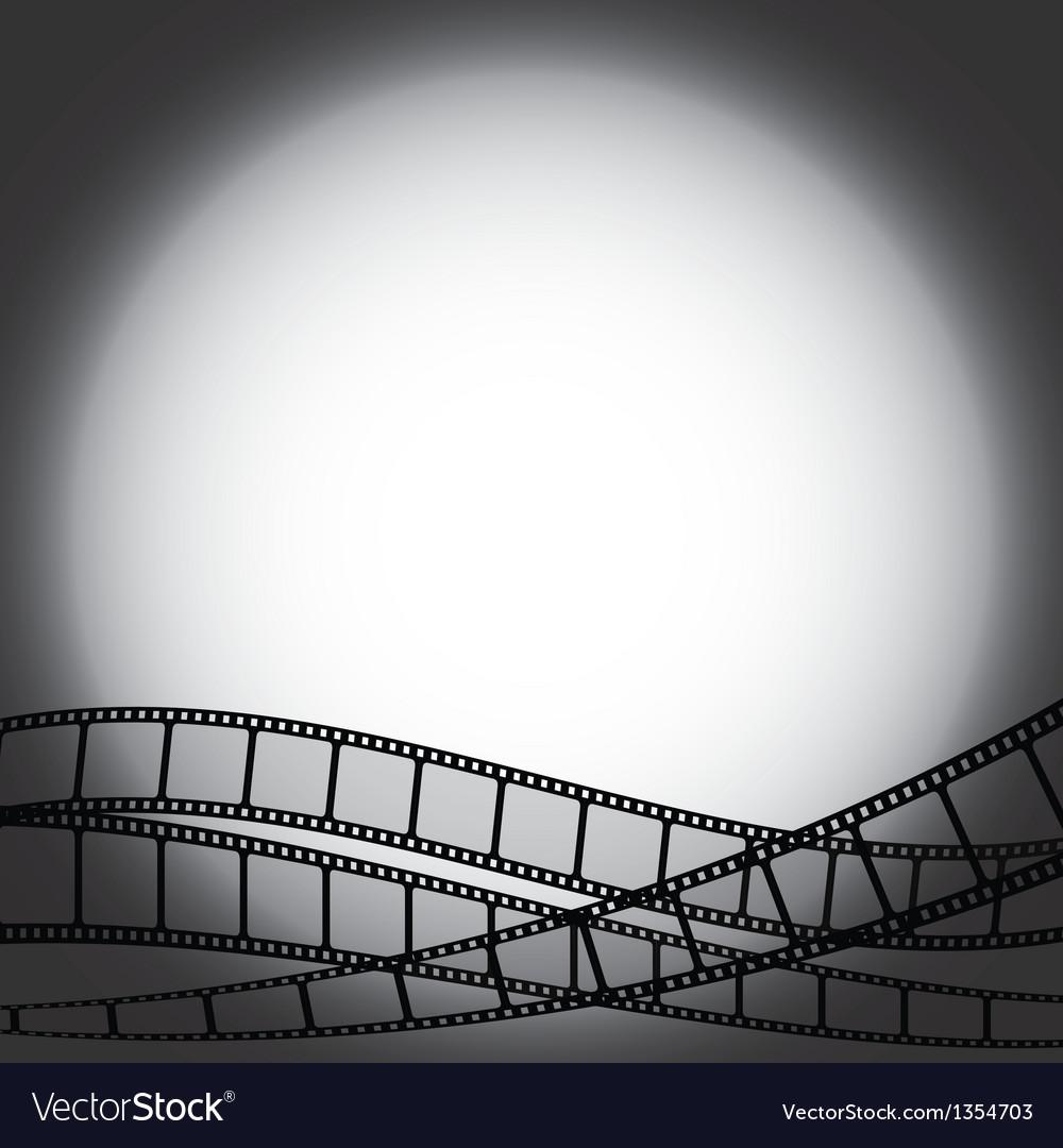 Film strips vector
