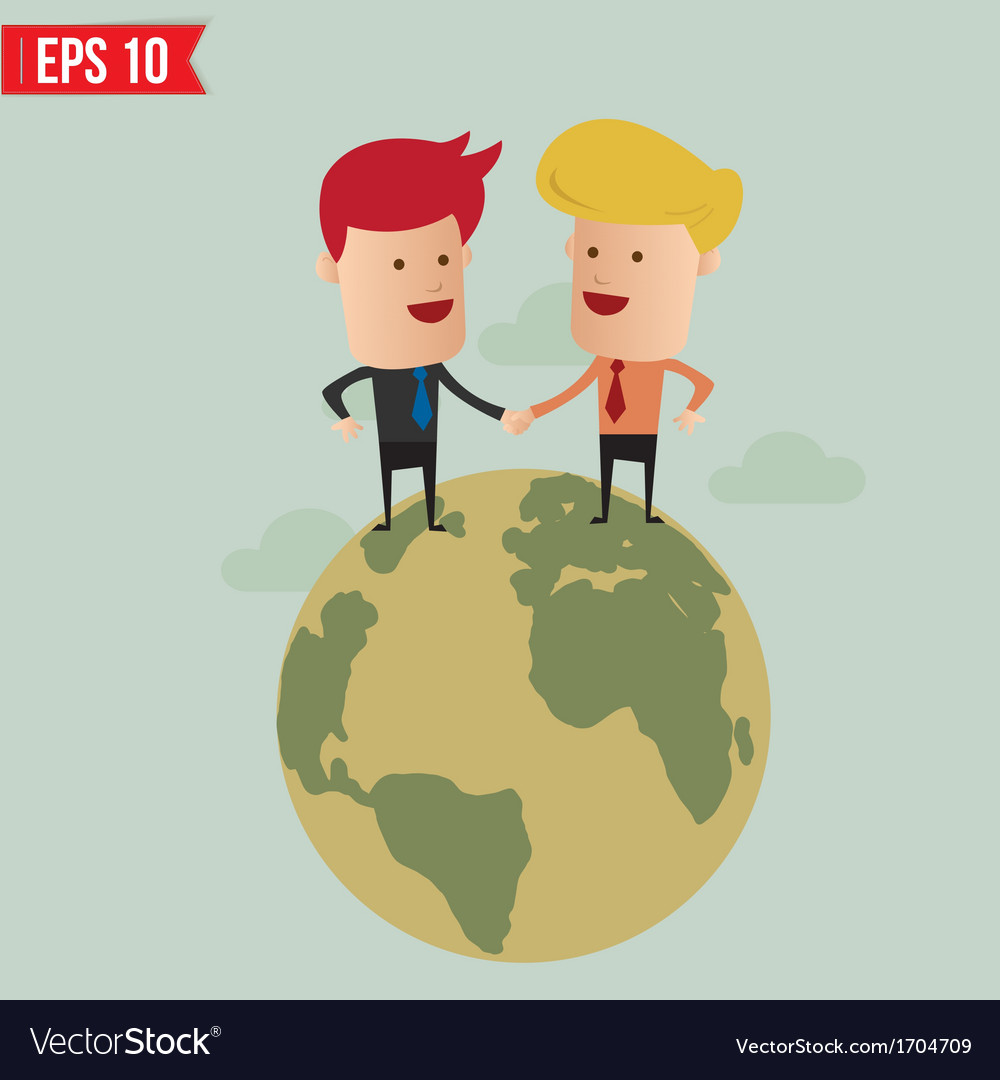 Worldwide service business concept - - eps10 vector