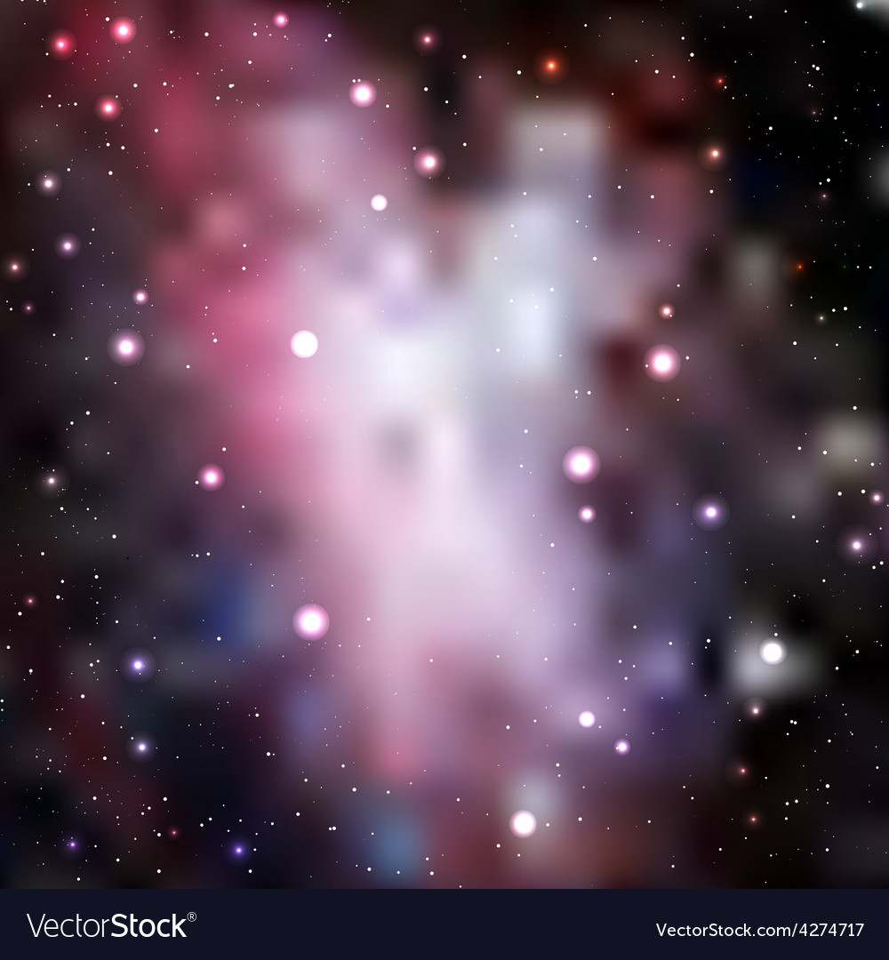 Abstract galaxy background vector